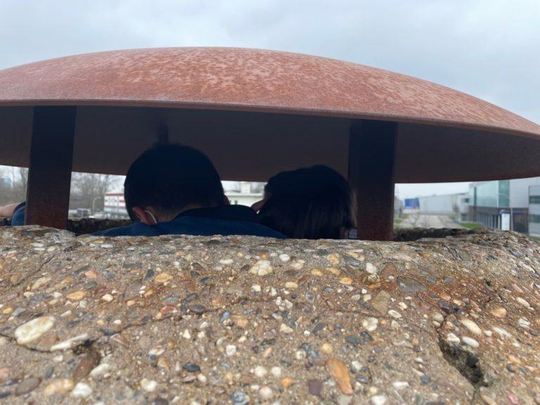 Een kijkje in de Tobrukbunker
